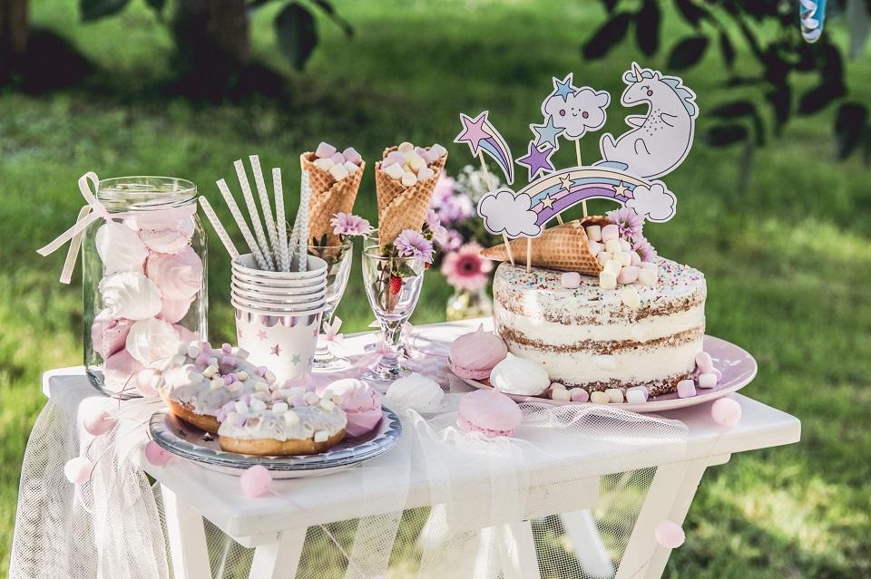 Słodki stół dla dzieci