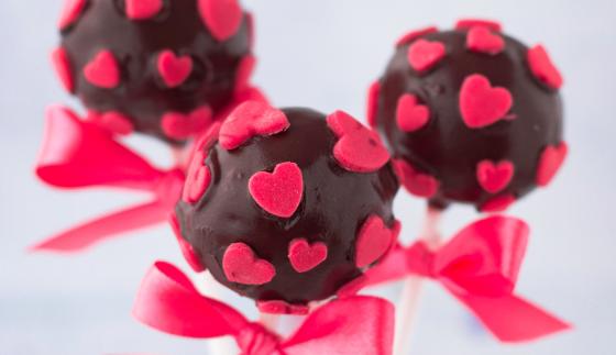 Cake pops – Walentynkowe lizaki