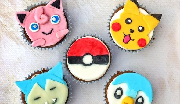 Pokemonowe babeczki