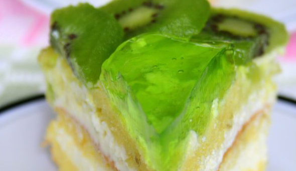 Tort z kiwi, limonką