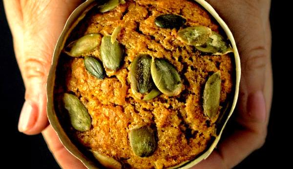 Muffiny marchewkowo-dyniowe