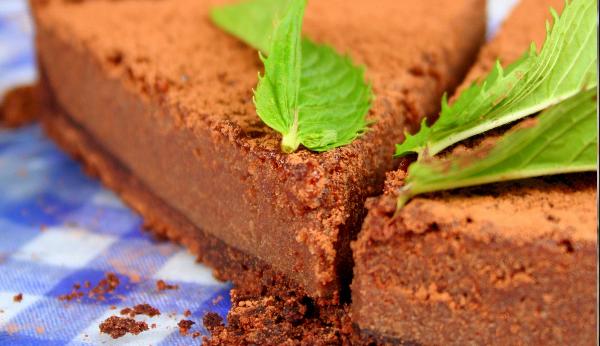 Tarta miętowo-czekoladowa