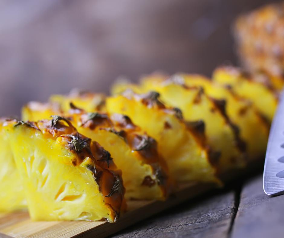 Galaretka z ananasa