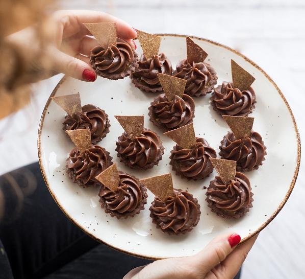 Kruche babeczki czekoladowe