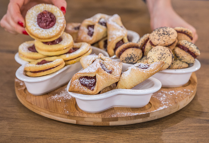Szybkie ciasteczka z marmoladą