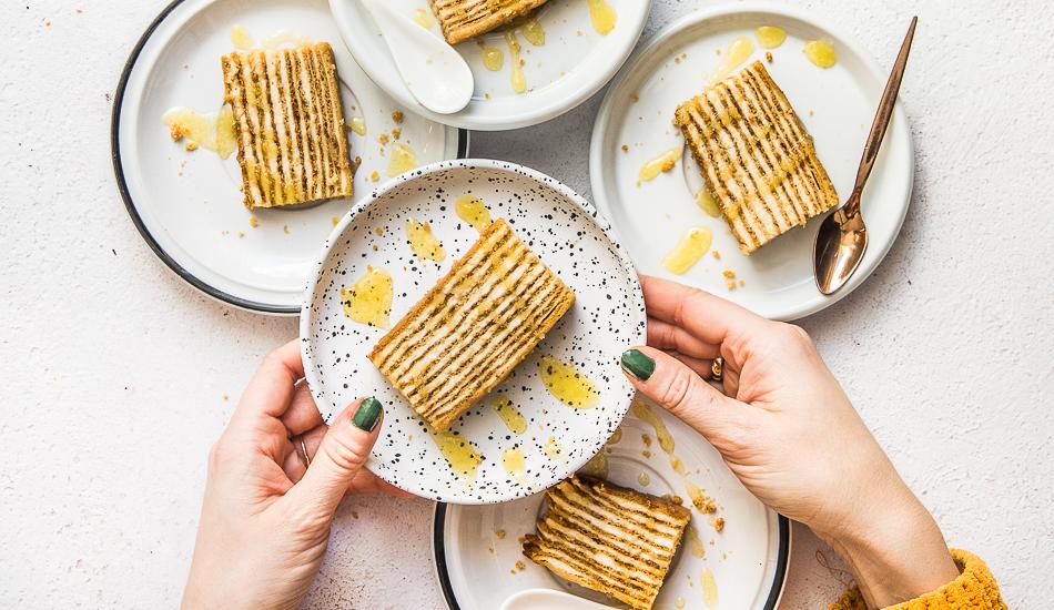 Medovik – rosyjskie ciasto miodowe