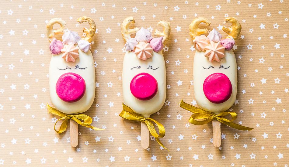 Cakesicles – ciasteczkowe lizaki Rudolfy